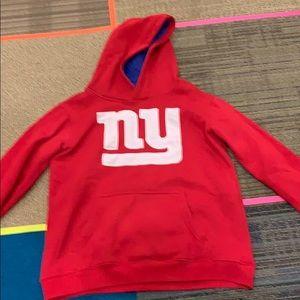 Youth NFL Giants Sweatshirt - large
